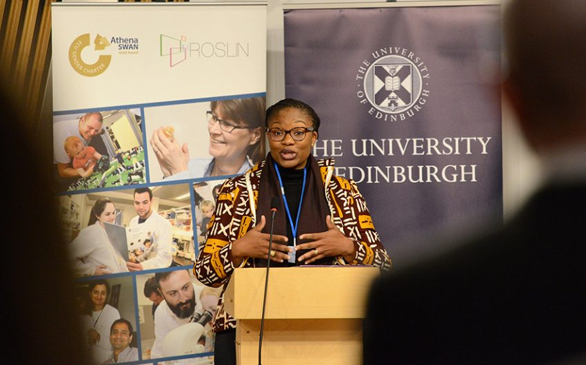 AWARD Deputy Director for Programs Michele Mbo'o-Tchouawou