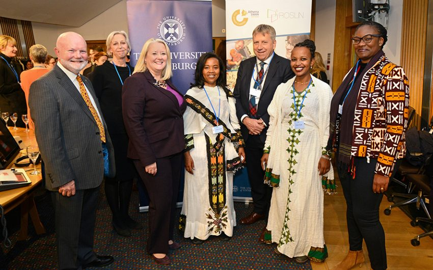 Speakers from Scottish Parliament reception