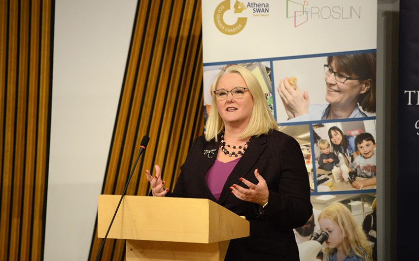 Christina McKelvie, MSP Minister for Older People and Equalities