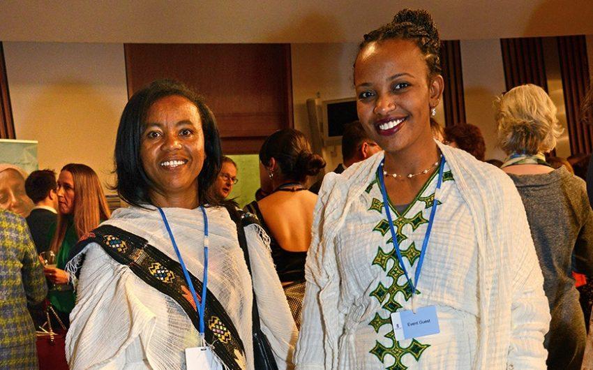 Ruth Bekele and Wude Tsega