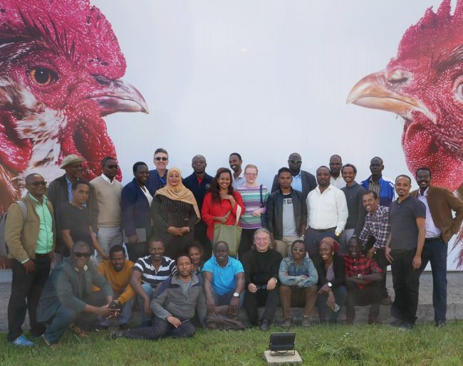 Students and Tutors at Livestock genomics Workshop at ILRI Addis Ababa