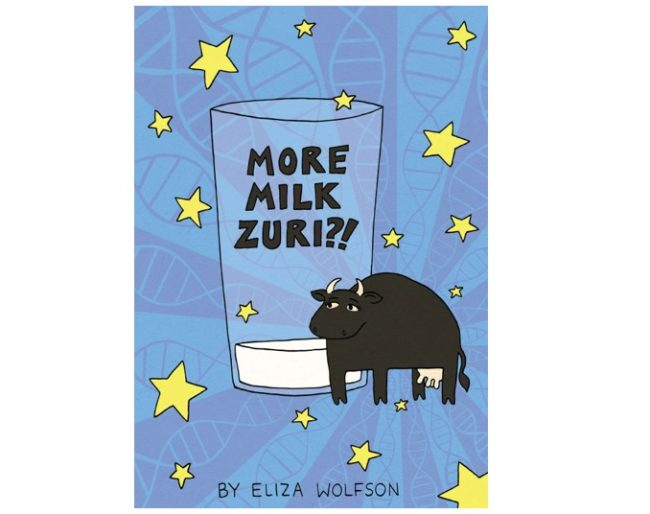 front page of More Milk Zuri comic